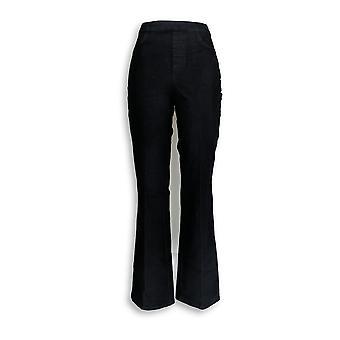 Isaac Mizrahi Live! Damen's Jeans 24/7 Denim Boot Cut Blue A270047