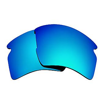 Polarized Replacement Lenses for Oakley Flak 2.0 XL Sunglasses Blue Anti-Scratch Anti-Glare UV400 by SeekOptics