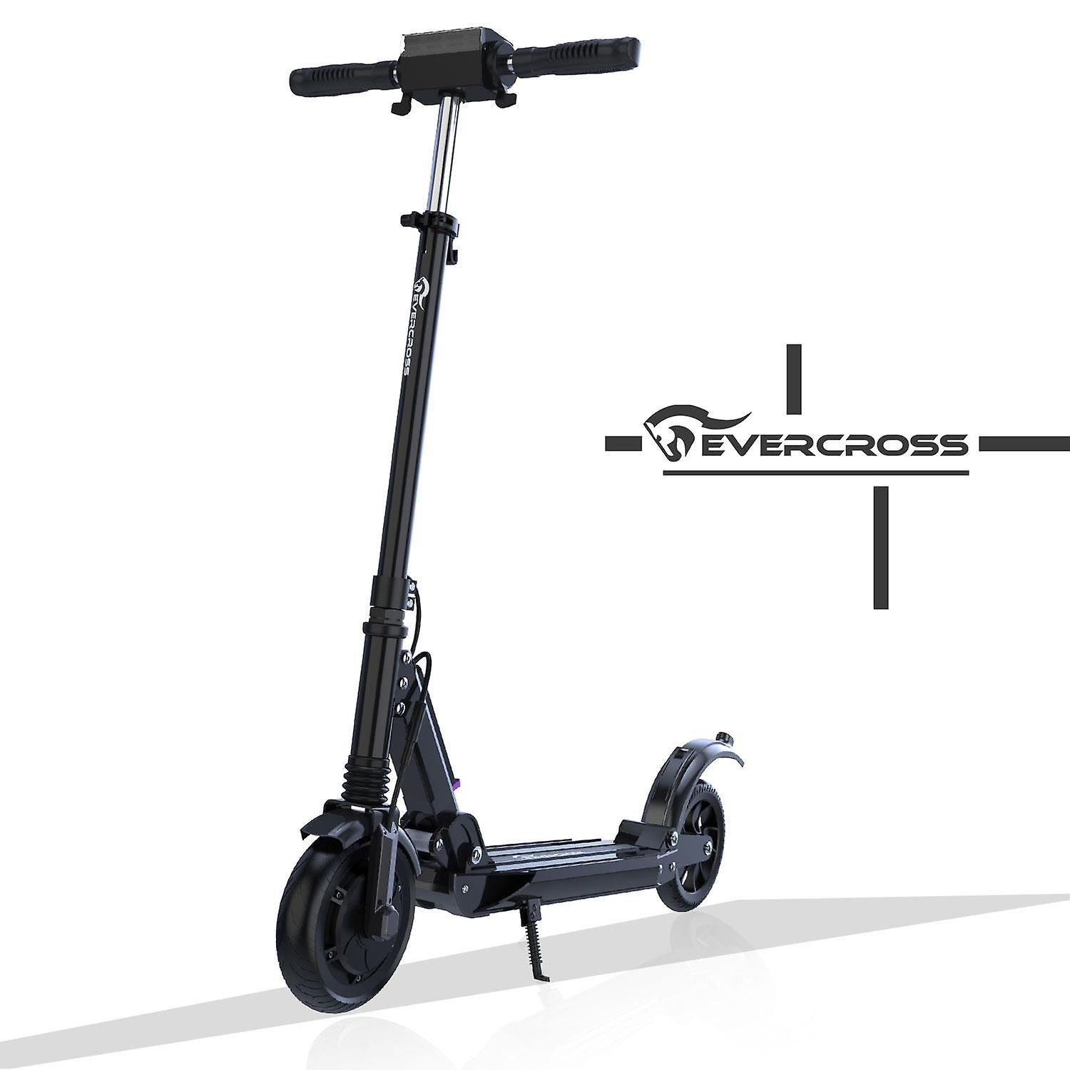 Evercross Electric Scooter Folding Scooter 350W Motor, Anti-Skid Tire and LCD Screen, Waterproof