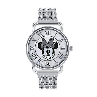 Disney Minnie Mouse Silver analog armbånd Watch
