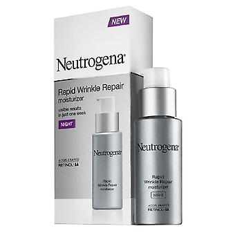 Neutrogena rapid wrinkle repair moisturizer, night, 1 oz