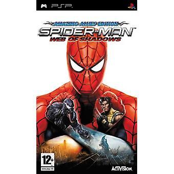 Spider-Man Web of Shadows (PSP)-ny
