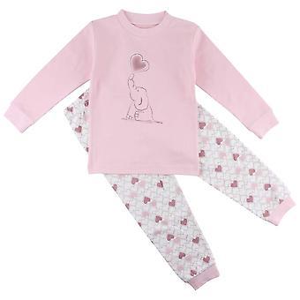 2-part Pajamas with Elephant and Hearts, Fixoni