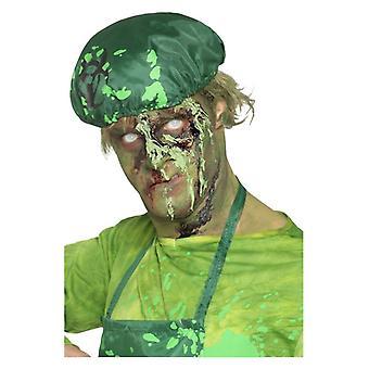 Grün, trocknet realistisch, Monster Schorf Blut, 25g Fancy Dress Zubehör