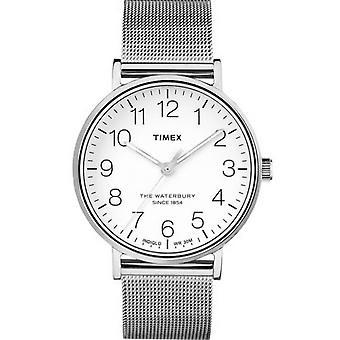 Orologio Timex TW2R25800D7 - indica l'uomo di soldi di Waterbury Bracciale Milanese