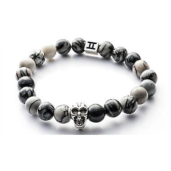 Gemini C4 - Classic mixed Jasper Bracelet bracelet