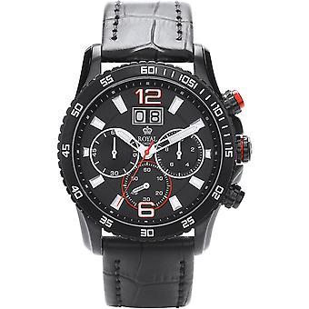 Watch Royal London 41271-02 - black leather men