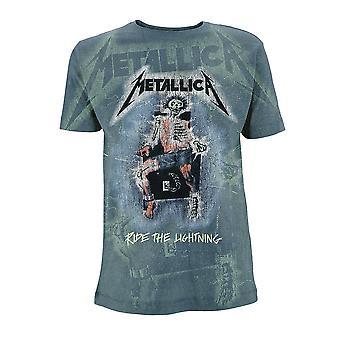 Metallica rida blixten sub James Hetfield officiella T-shirt