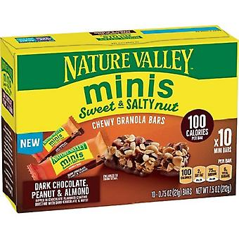 Nature Valley Minis Chewy Granola Bars Dark Chocolate Peanut & Almond