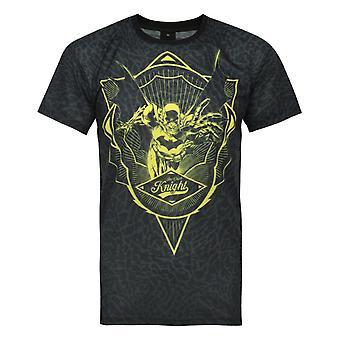 Addict X DC Comics Batman Flight Crest Miesten's T-paita