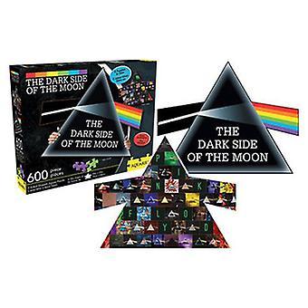 Pink floyd - dark side collage & prisma 600pc dubbelzijdige puzzel