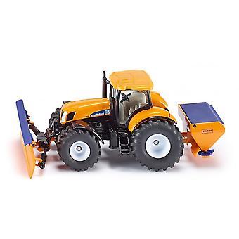 Siku 2940 Traktor Schneepflug & Salzstreuer 1:50