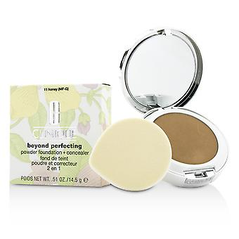 Beyond Perfecting Powder Foundation + Corrector - # 11 Honey (MF-G) 14.5g/0.51oz