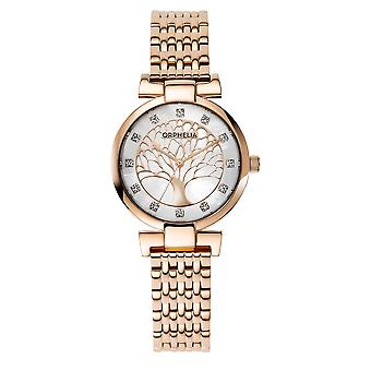 ORPHELIA Women Analogue Watch Rose Gold Stainless steel OR12702