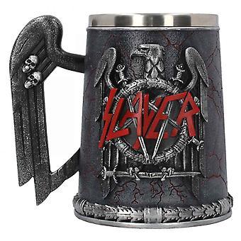 Slayer Tankard Eagle Crest Band Logo sculpted design new Official Black Boxed