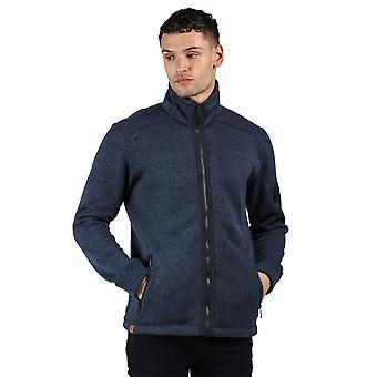 Regata hombres Garret poliéster completo Zip al aire libre chaqueta de vellón