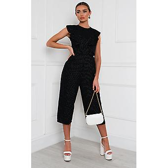 IKRUSH Womens Marta Tie Belt Jumpsuit