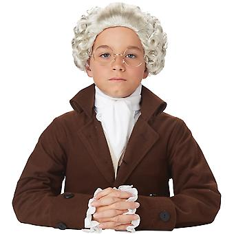 Colonial Wig Child