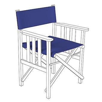 Blue Director Stühle Ersatz Polyurethan beschichtet Leinwand Deckt Garten
