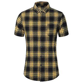 Allthemen muži ' s Buffalo skontrolovať tričká ležérne kockované tlačené topy