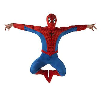 Mens Deluxe Spiderman Fancy Dress Costume