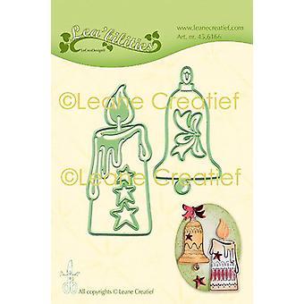 LeCrea - Lea'bilitie Candle & bell Cut and Embossing Die 45.6166 Combi