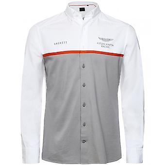 Hackett Slim Fit farveblokskjorte