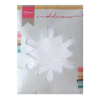 Marianne Design Shaker snow - 50 gr fine snow with glitter LR0028 130x160x10 mm