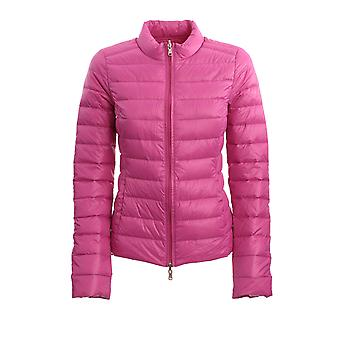 Patrizia Pepe Cs0178a503r666 Women's Fuchsia Nylon Down Jacket