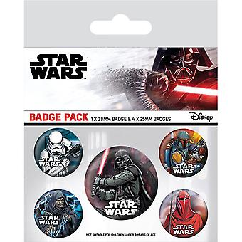 Star Wars Dark Side Pin Düğme Rozetleri Seti