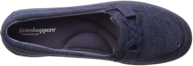 Grasshoppers Women's Windsor Rib Knit Loafer Flat
