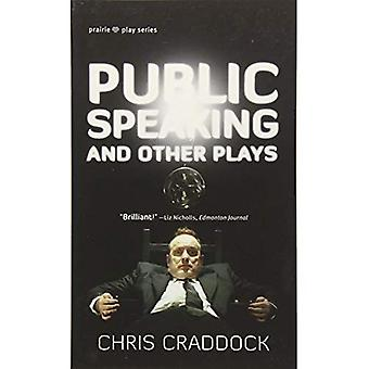 PUBLIC SPEAKING OTHER PLAYS (Prairie Play)