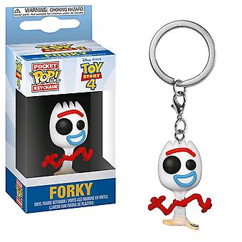 Toy Story 4 Forky Pocket Pop! Keychain