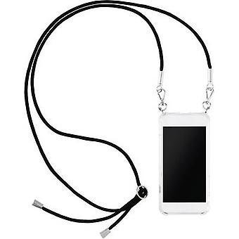 Hama Cross Body-Cover Pasek na szyję telefonu Huawei P20 Lite Transparent