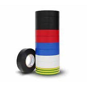 Electrical Insulation Tape Rainbow 10 Pack