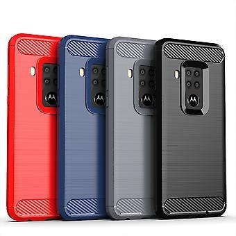 Motorola Telefonfodra fodral Täcka TPU fall skyddande fall telefon stötfångare koloptisk slida