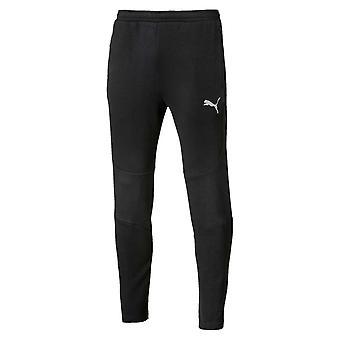Puma Evostripe メンズ テーパード パンツ ズボン黒をジョギング フィットネス ジャージ