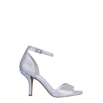Michael By Michael Kors 40r0mlha1d040 Women's Silver Leather Sandals