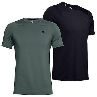 Under Armour Mens Rush HG ausgestattet Kurzarm Infrarot Anti-Odor T-Shirt