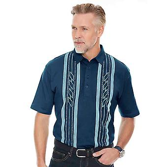 Pegasus Mens 2 Pack Tailored Collar Polo Shirts
