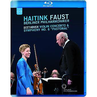 Bernard Haitink - importación USA Beethoven Violin concierto y Sinfonía nº 6 Pastoral [DVD]