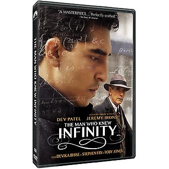 Man Who Knew Infinity [DVD] USA import