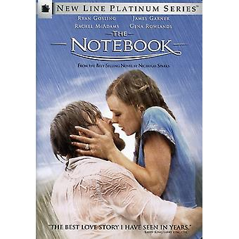 Notebook [DVD] USA import