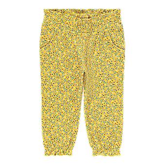 Name-it Girls Newborn Pants Lea Spicy Mustard