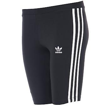 Damskie&s adidas Originals Spodenki rowerowe w kolorze czarnym