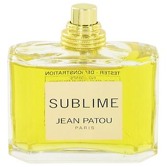 Sublime Eau De Parfum Spray (Tester) By Jean Patou 2.5 oz Eau De Parfum Spray