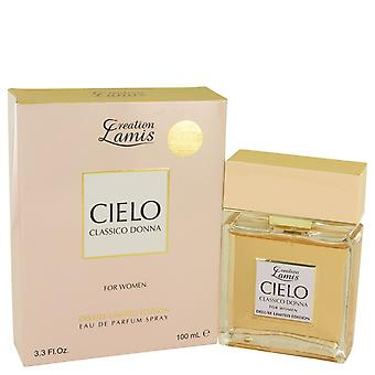 Lamis Cielo Classico Donna by Lamis Eau De Parfum Spray Deluxe Limited Edition 3.3 oz / 100 ml (Women)