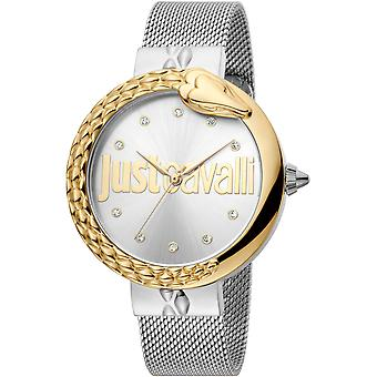 Just Cavalli XL Watch JC1L096M0115 - Stainless Steel Ladies Quartz Analogue
