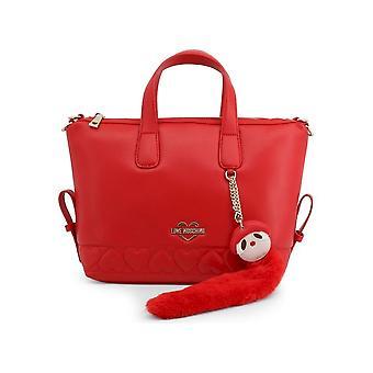 Love Moschino - Bags - Handbags - JC4085PP18LO-0500 - Women - Red