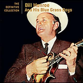 Bill Monroe - Definitive Collection [CD] USA import